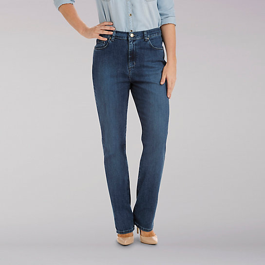 Platinum Label Relaxed Fit Stretch Jean - Petite