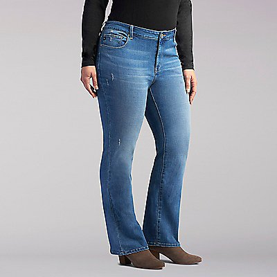 Platinum Label Curvy Avery Bootcut Jeans - Plus