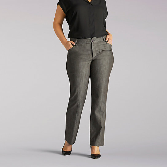 Platinum Label No-Gap Madelyn Trouser - Plus