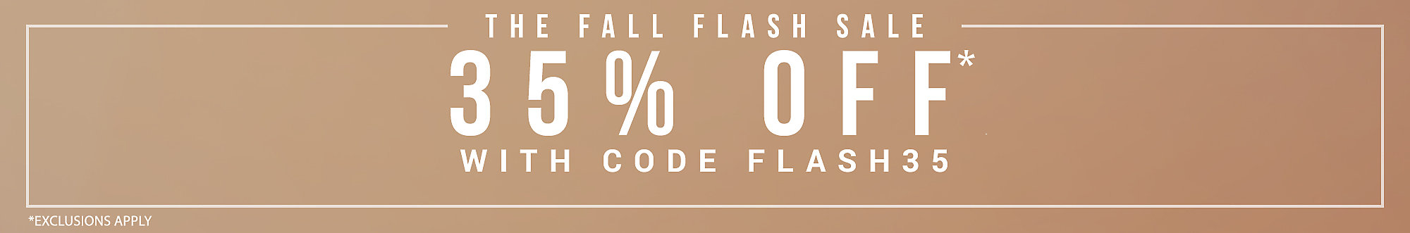 Up To 35% Off With Code FLASH35