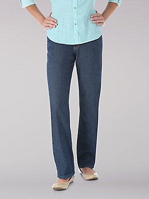 Women's Lee Riders Womens Relaxed Fit Straight Leg Jean