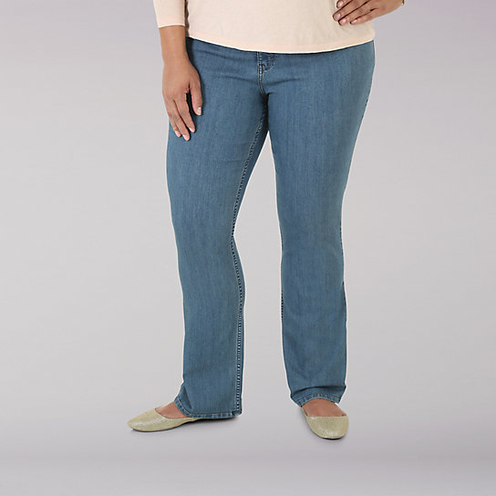 Lee Riders Slender Stretch Callista Slimboot Denim - Plus