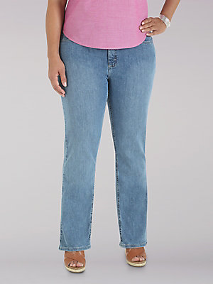 Women's Lee Riders Relaxed Fit Straight Leg Jean (Plus)