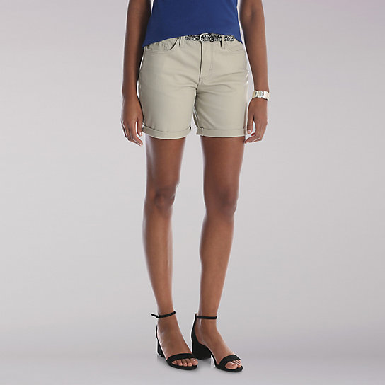 "Lee Riders 6"" Belted Cuff Short"