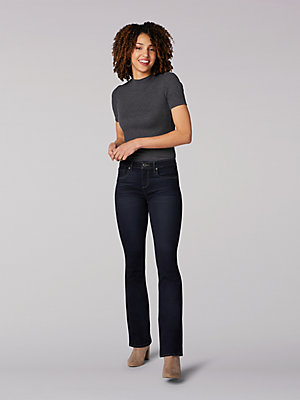 Women's Lee Riders Shape Illusions Side Panel Bootcut Jean