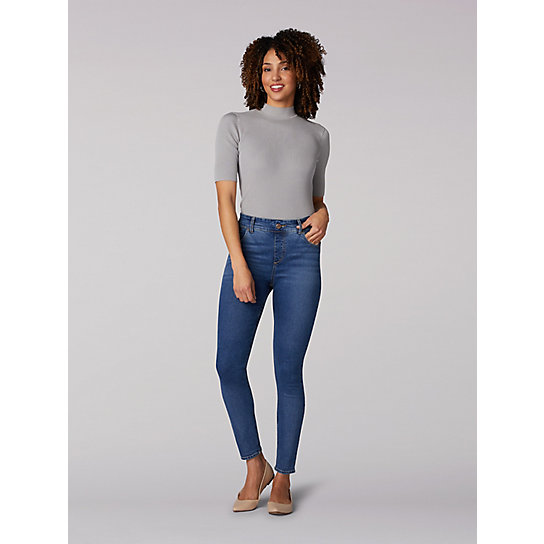 Lee Riders Shape Illusions High Rise Pull On Jegging