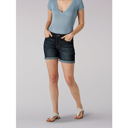 Women's Lee Riders Regular Fit Rolled Short