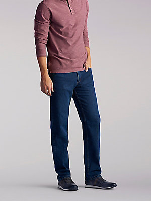 Men's Regular Fit Straight Leg Heavyweight Jean