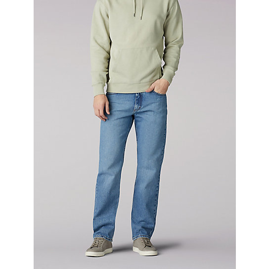 9323a2b8e258 Regular Fit Straight Leg Jeans | Lee