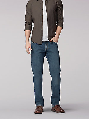 Men's Regular Fit Straight Leg Midweight Jean