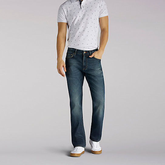 Modern Series Athletic Fit Tapered Leg Jeans