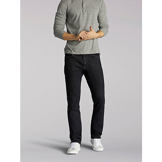 Extreme Motion Athletic Tapered Leg Jeans