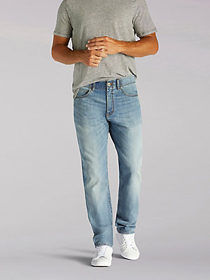 Men's Extreme Motion Athletic Tapered Leg Jean