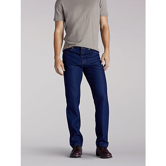 Regular Fit Straight Leg Jean - Men's Fit