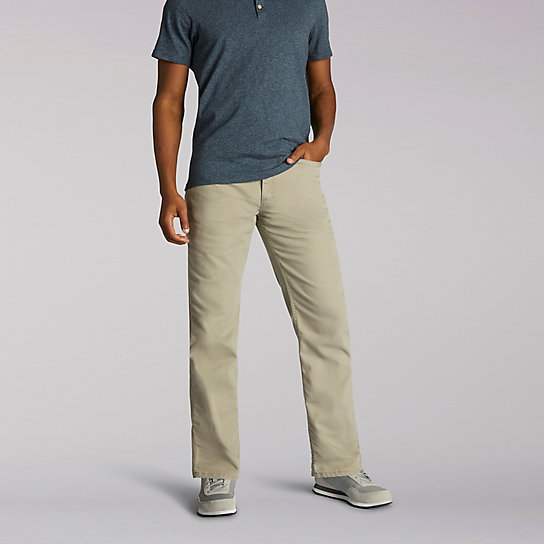 Relaxed Fit Utility Jeans
