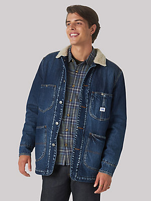 Men's Heritage Sherpa Lined Chore Coat