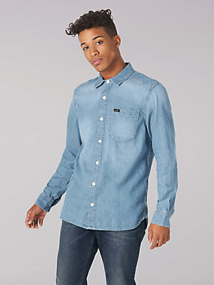 Men's Heritage Solid All Purpose Button Down Shirt