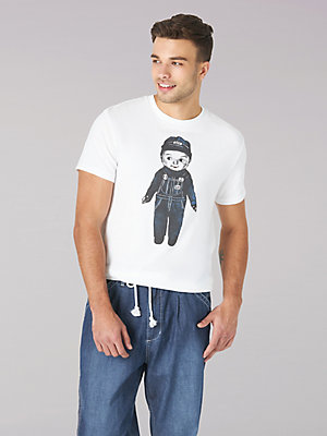 Men's Heritage Buddy Lee in Overalls Graphic Tee
