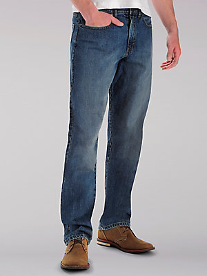 Men's Custom Fit Loose Straight Leg Jean (Big & Tall)
