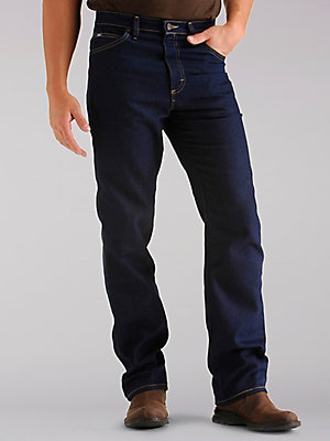 Men's Regular Fit Straight Leg Stretch Jean (Big & Tall)
