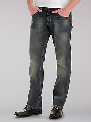 Max Max LEE Mens Modern Series Relaxed Bootcut Jeans 30X34