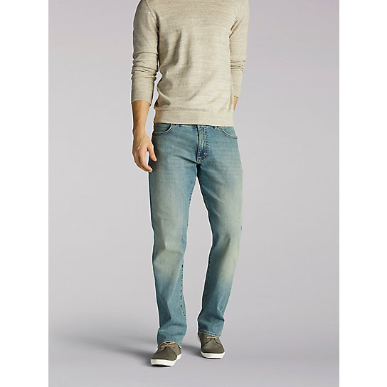 Extreme Motion Straight Leg Jeans - Big & Tall