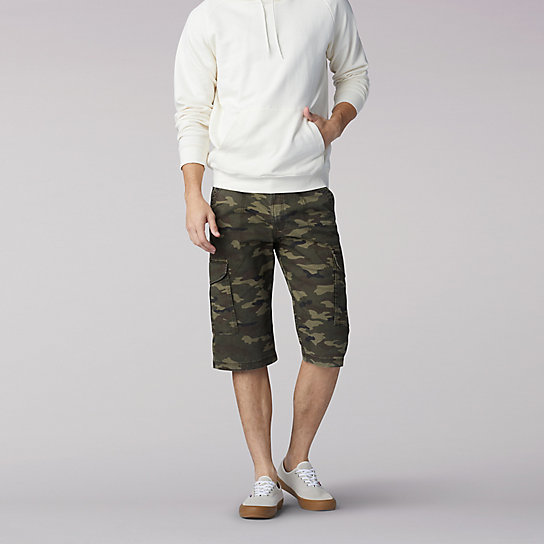 SUR Belted Cargo Shorts