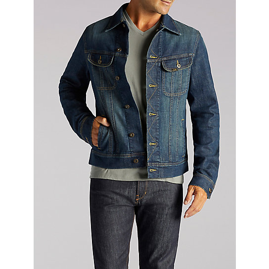 1ed3bd2f2bc3 Mens Denim Jacket | Lee