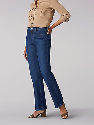 Women's Original Relaxed Fit Straight Leg Jean (Petite)