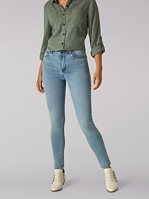 Women's High Rise Slim Fit Skinny Jean