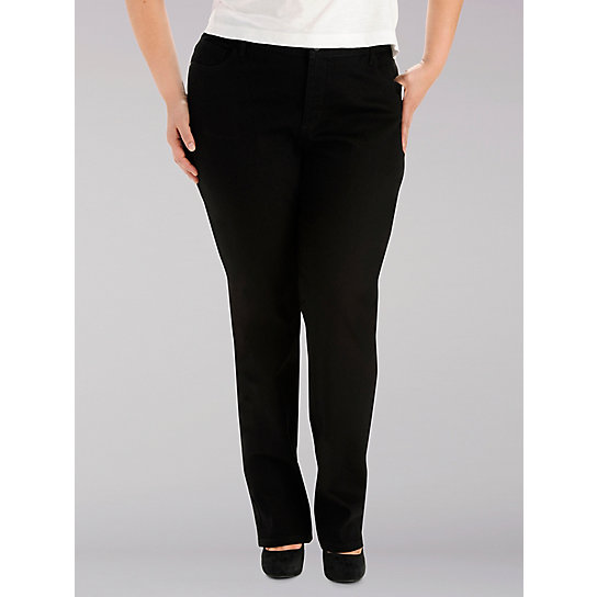 ed598be1 Instantly Slims Relaxed Fit Straight Leg Jean (Classic Fit) - Plus | Lee