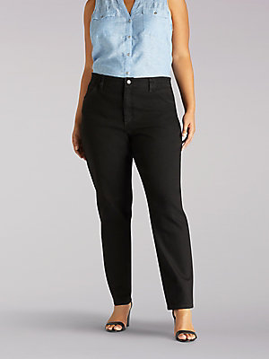 Women's Side Elastic Jean (Plus)