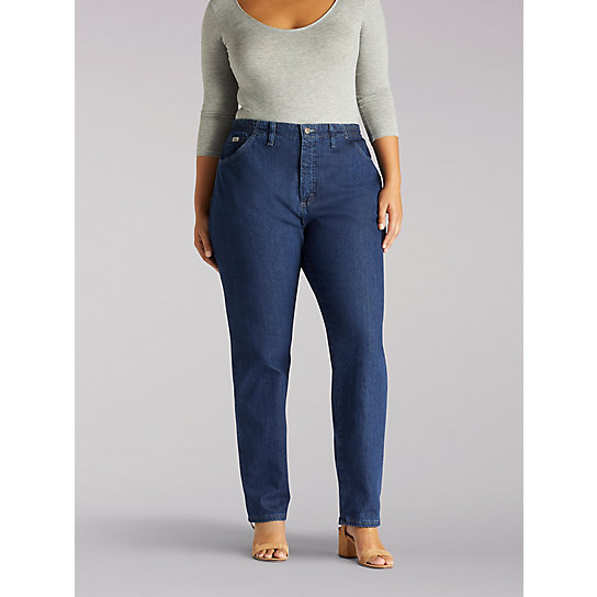 Side Elastic Jean - Plus