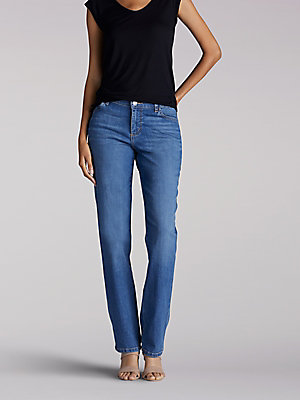 Women's Stretch Relaxed Fit Straight Leg Jean (Tall)