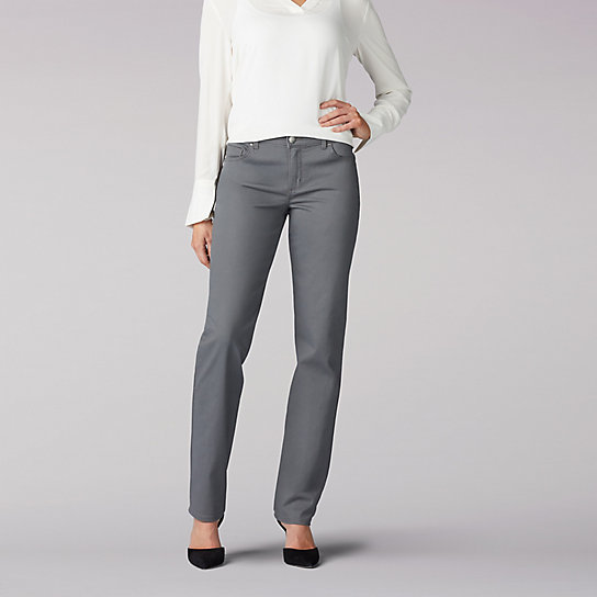 Stretch Relaxed Fit Straight Leg Jean - Tall