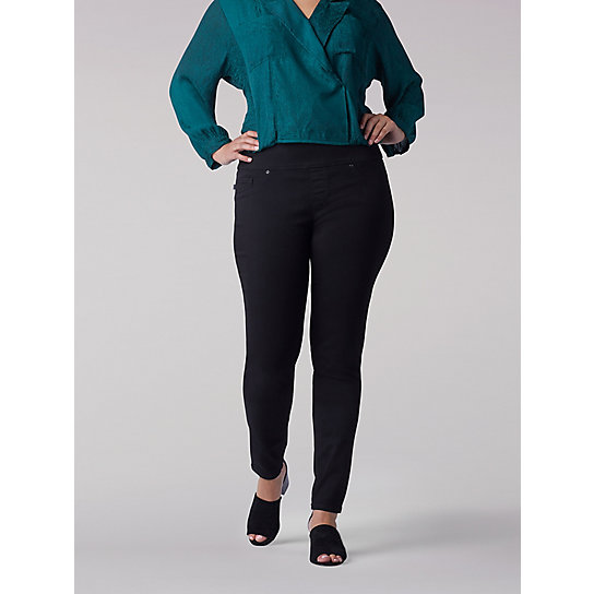 Sculpting Slim Fit Skinny Pull-On Jean - Plus