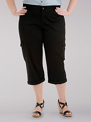 Women's Relaxed Fit Austyn Cargo Capri (Plus)