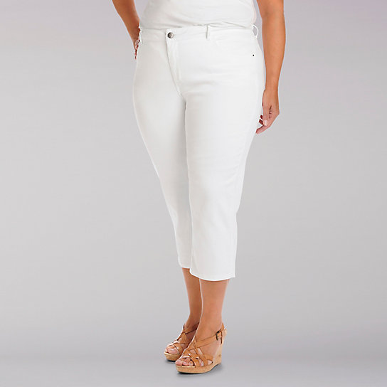 Easy Fit Frenchie Capri - Plus