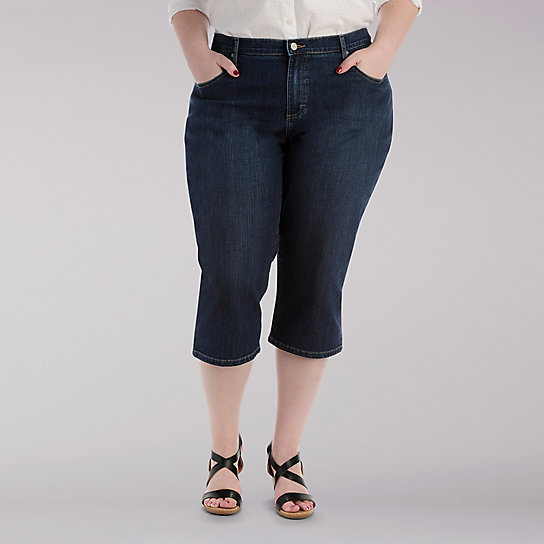 Relaxed Fit Capri - Plus
