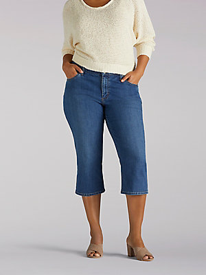 Women's Relaxed Fit Capri (Plus)