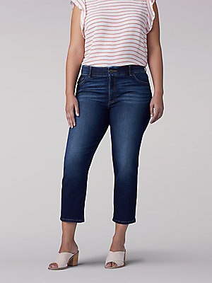 Women's Flex Motion Regular Fit Capri (Plus)