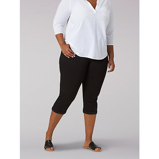 Women's Flex Motion Regular Fit Capri - Plus