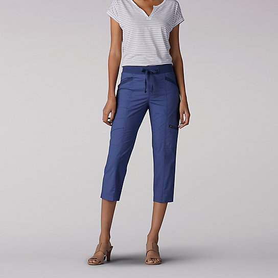 Relaxed Fit Margeaux Cargo Capri