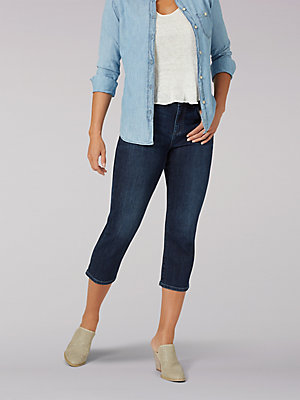 Women's Legendary Regular Fit Capri (Petite)