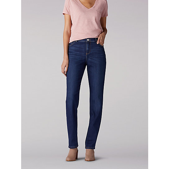 Instantly Slims Relaxed Fit Straight Leg Jean (Classic Fit)