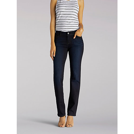 Flex Motion Regular Fit Straight Leg Jean