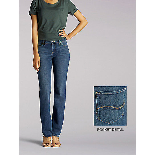 Perfect Fit Heidi Straight Leg Jeans