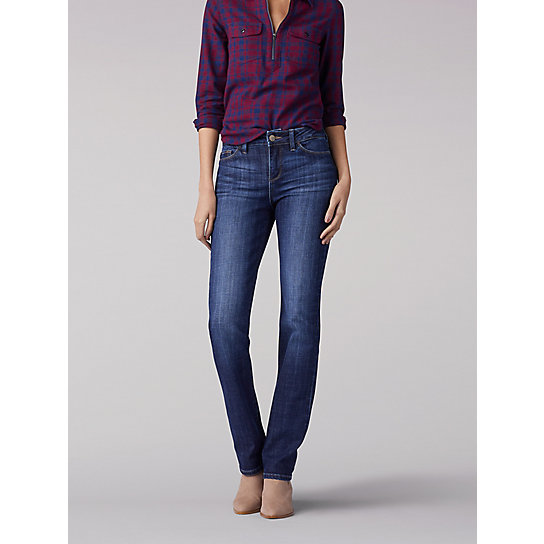 Secretly Shapes Regular Fit Straight Leg Jean
