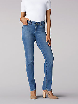 Women's Flex Motion Regular Fit Straight Leg Jean