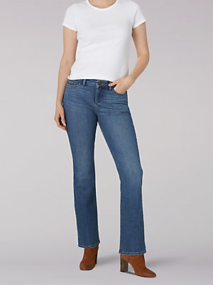 Women's Secretly Shapes Regular Fit Bootcut Jean